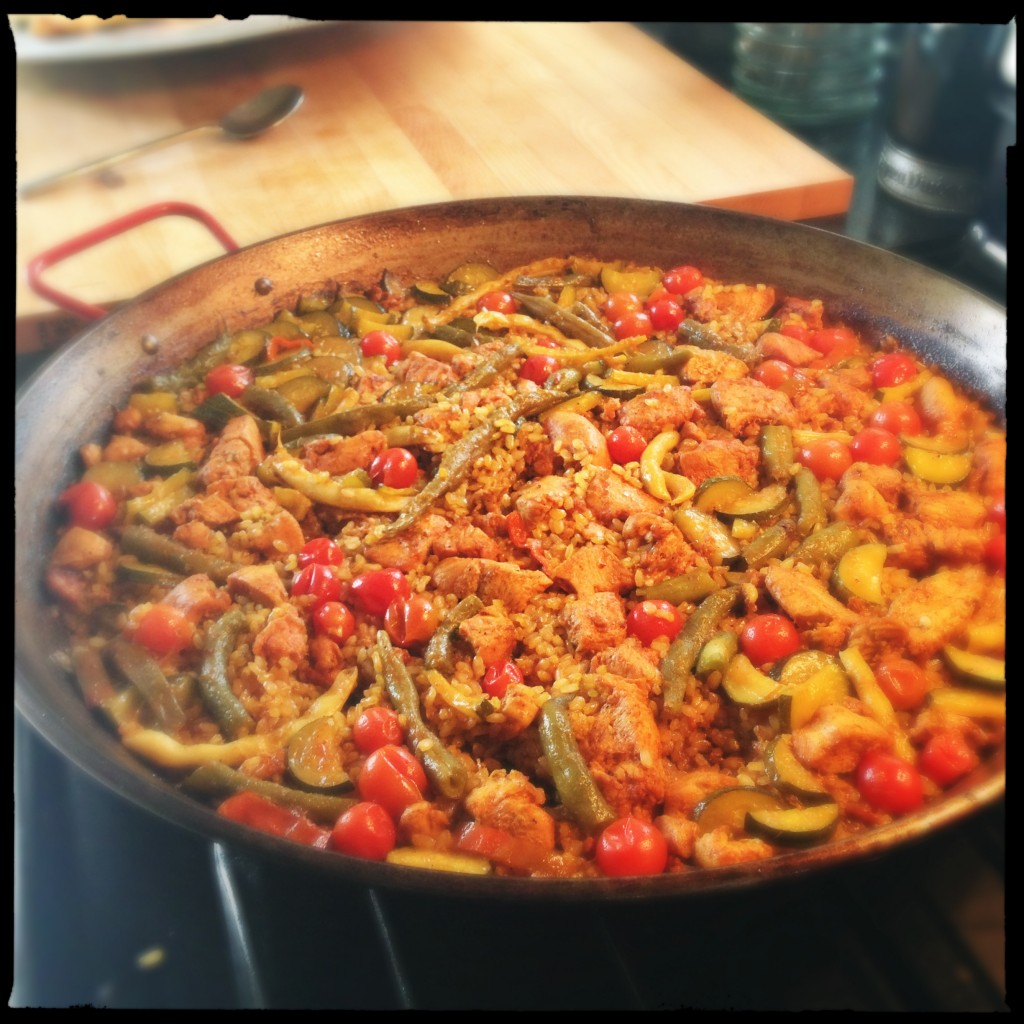 A paella (more or less!)