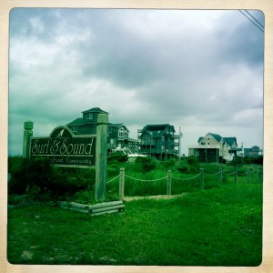 Our Outer Banks neighborhood, Surf or Sound in Frisco, NC