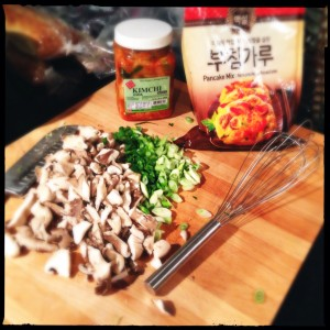 Kimchijeon ingredients
